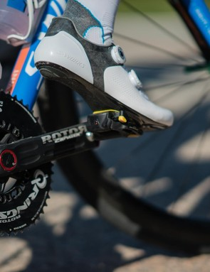 The team will also be using Rotor's cranks and hubs