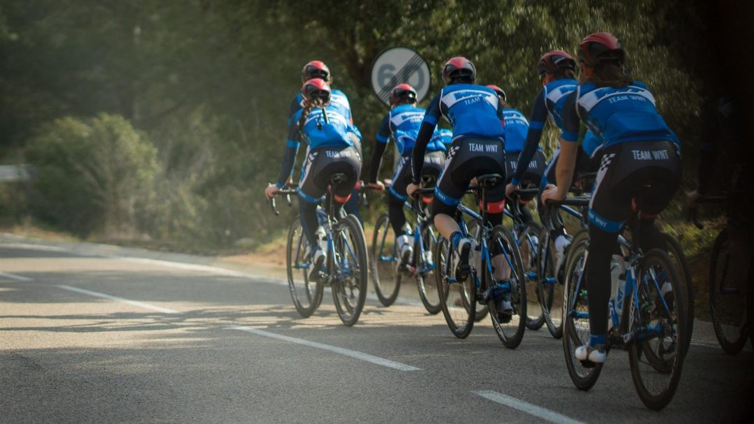 The women's team will be racing all over Europe next season