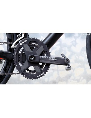 The Aldhu 3D+ chainset uses no external bolts, making for an exceptionally clean look