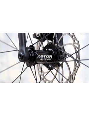 Rotor's Rvolver hubs use large bearings from supplier Enduro