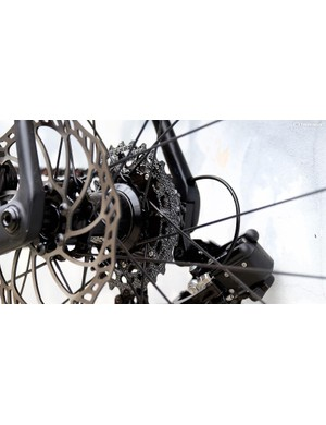Rotor's 11-28t cassette is one of the lightest available at just 135g