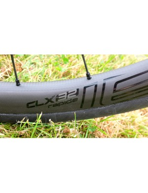 Specialized claims that despite shallower rims, the CLX 32 have the aero properties of rims twice the depth