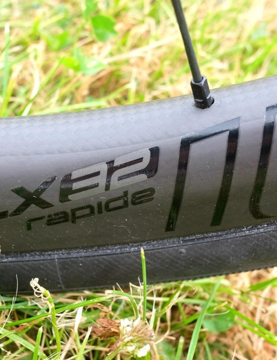 The Roval CLX32 disc wheels are fast and tough