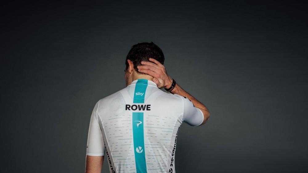 Luke Rowe in the 2018 Team Sky Castelli kit