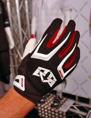 Royal Racing had a lot of new stuff on show including a new glove, complete with the obligatory moulded rubber knuckle dusters.