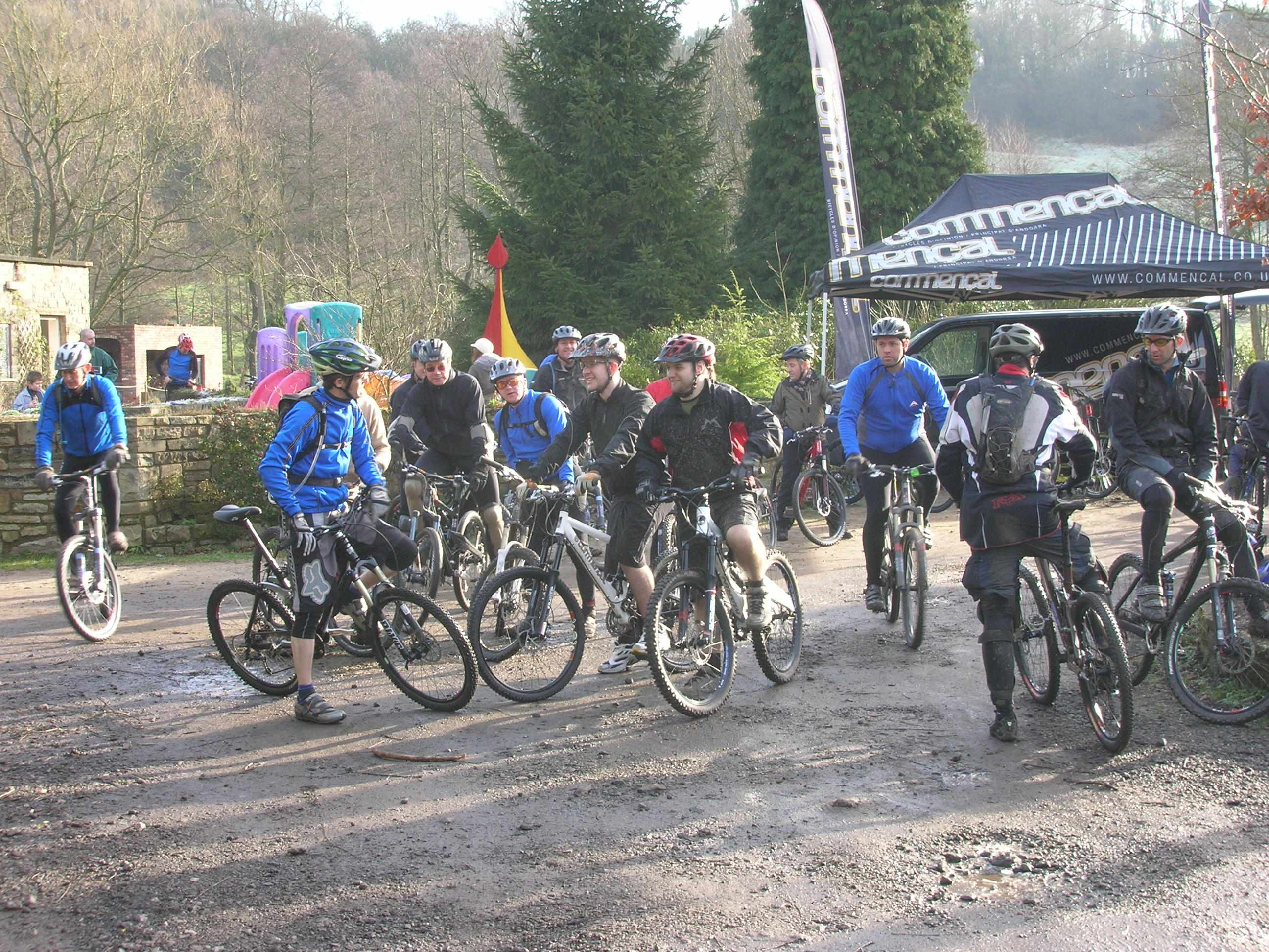Riders at the 2007 Royles demo day