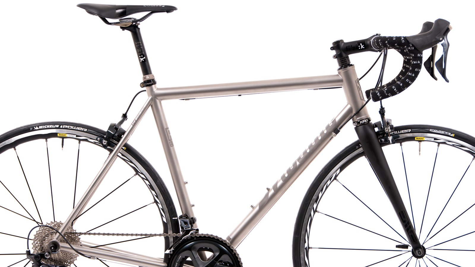 Every Mosaic titanium frame is built in Boulder, Colorado