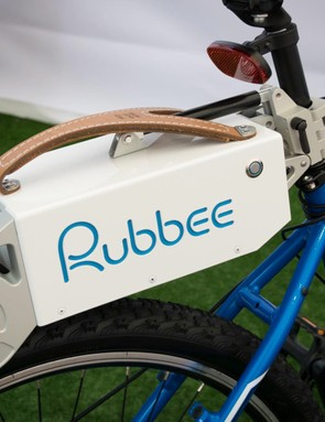 The Rubbee is a friction drive unit that sits on top of your rear wheel