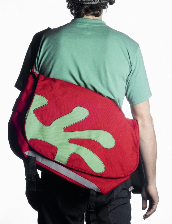 Messenger bags have a funkier, more urban look.