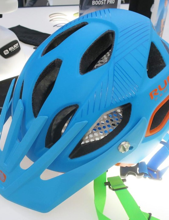 The new Protera mountain bike helmet is Rudy's first dedicated off-road design