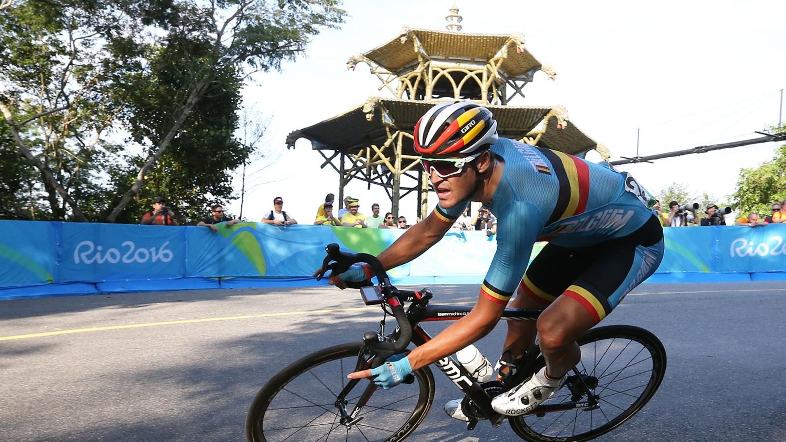 Greg Van Avermaet won the Olympic road race on a BMC...