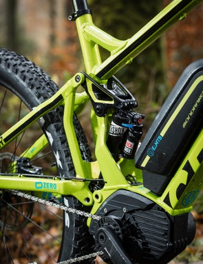 The Zero Suspension System comes alive at speed