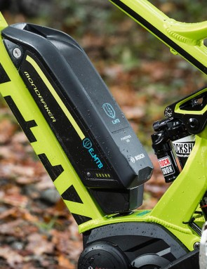 The Bosch Performance Line CX motor and 500Wh battery
