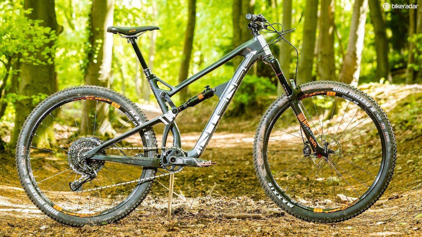 The Intense Carbine is its long travel 29er enduro bike