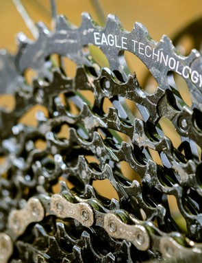 SRAM's GX Eagle has a wide ranging cassette