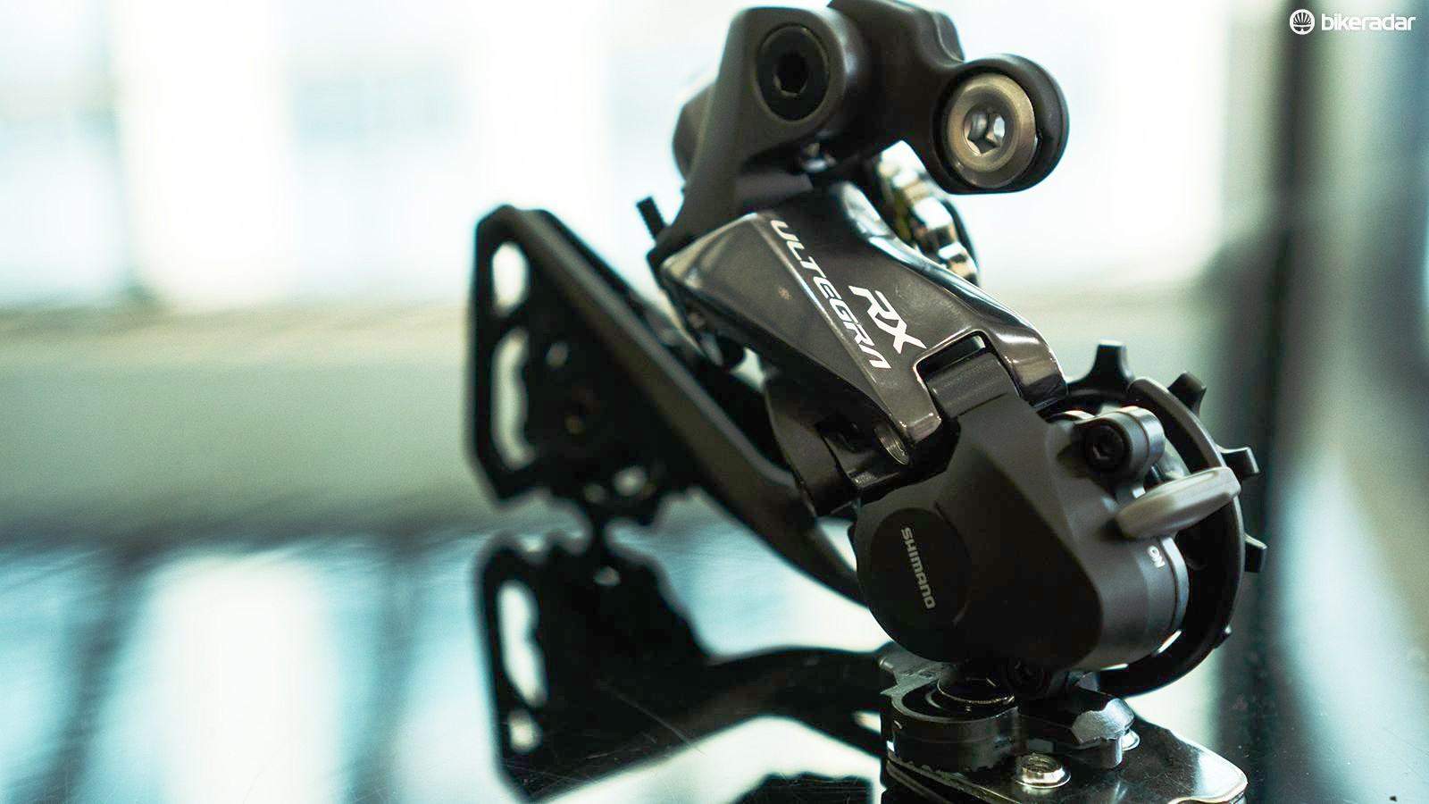 The Shimano Ultegra RX Di2 rear derailleur is a component that's time has come