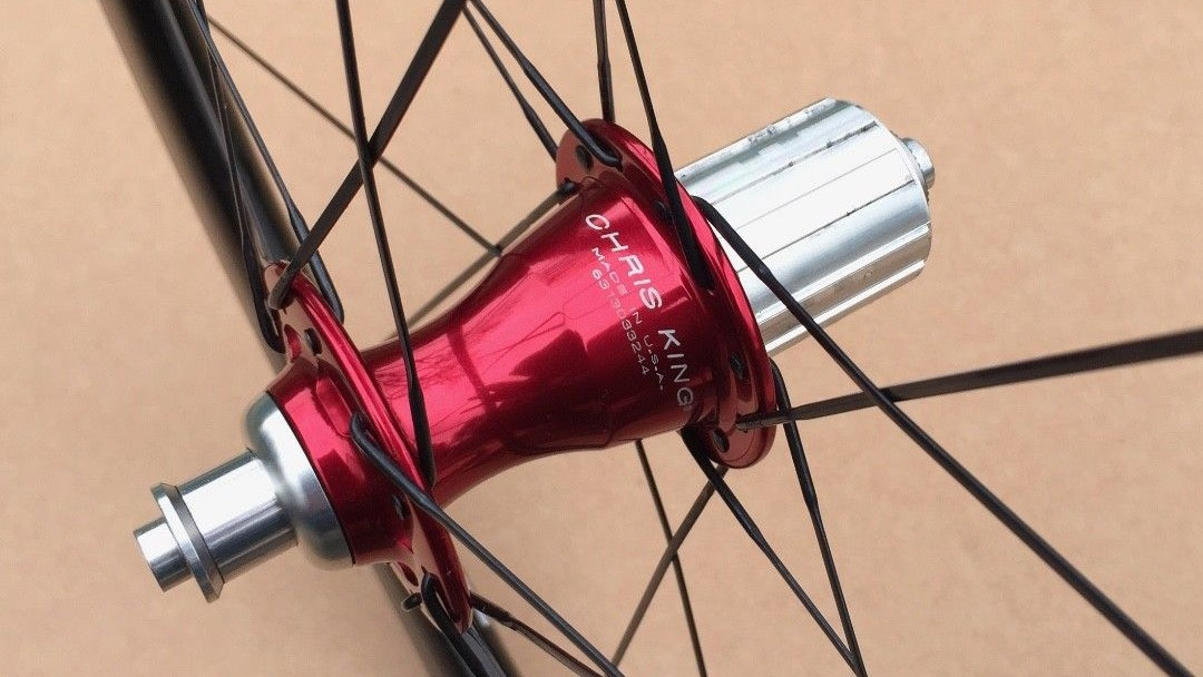 Chris King's R45 hubs should give years of trouble free service