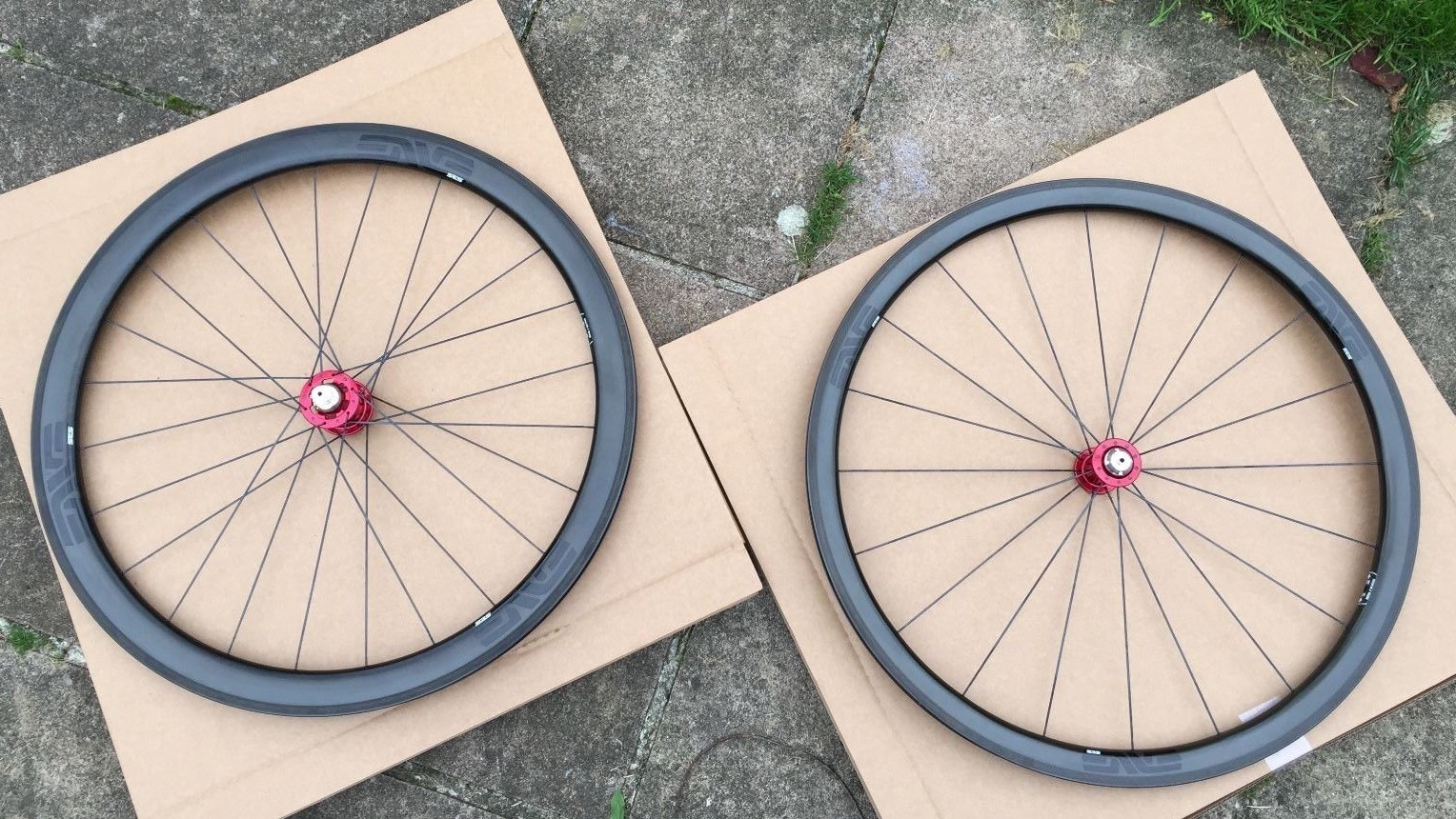These wheels present a £900-ish saving on RRP