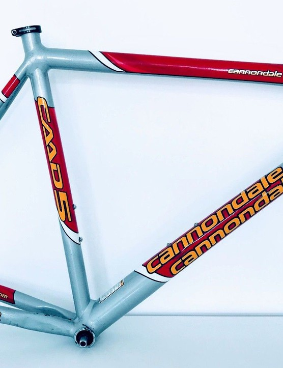 I love a retro Cannondale track bike