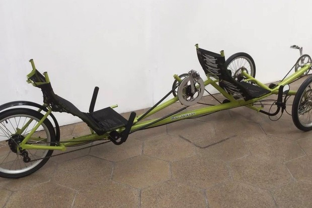 Who knew you could make a bike this weird?