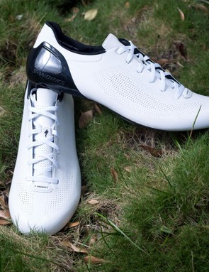 Specialized's Sub6 shoes forgo the Boa dials and Velcro seen on the standard S-Works options for laces