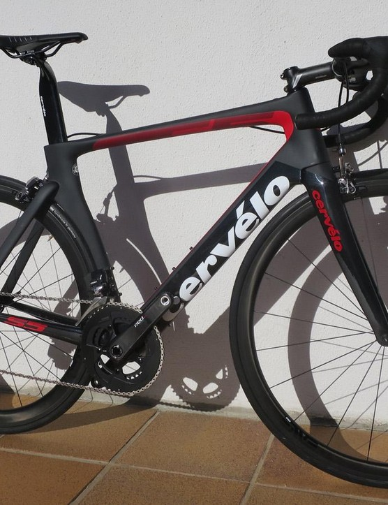 The Cervelo S5 will come in new builds for 2017, including SRAM eTap and Shimano Ultegra Di2