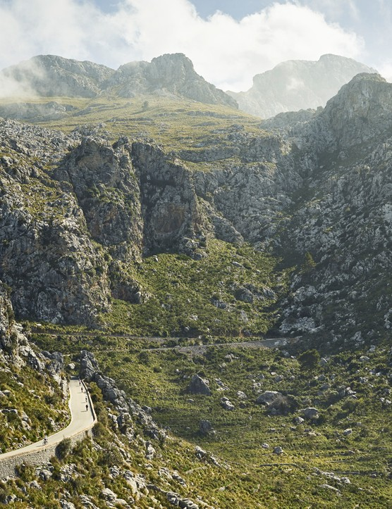 Sa Calobra is a mecca for pros and amateurs alike