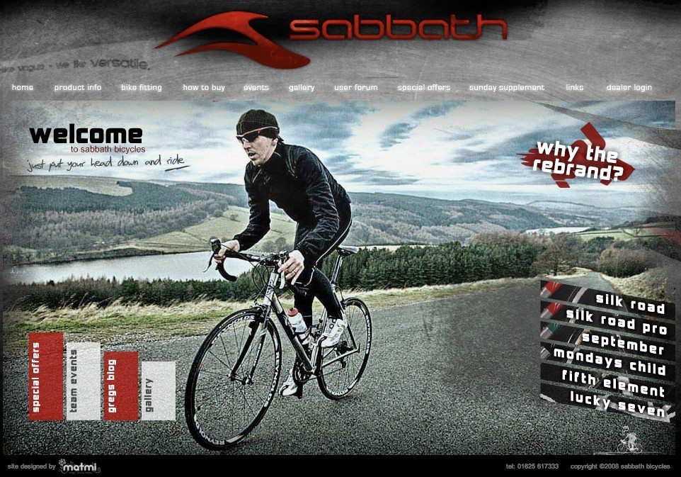Sunday Bicycles is now Sabbath Bicycles.