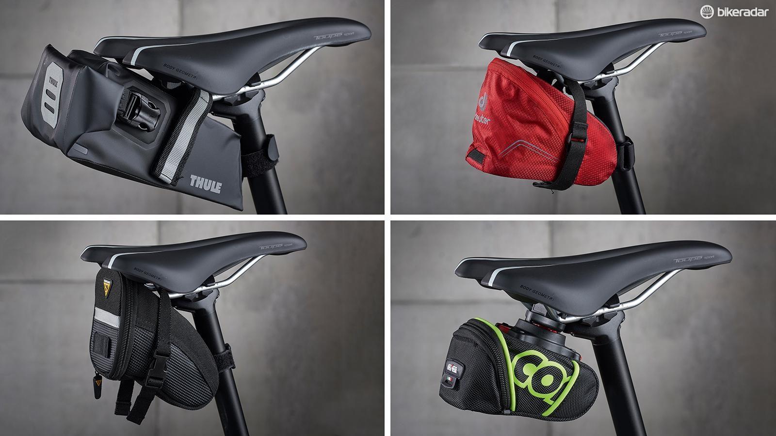 Evoc Saddle Bag Tour Black Bike