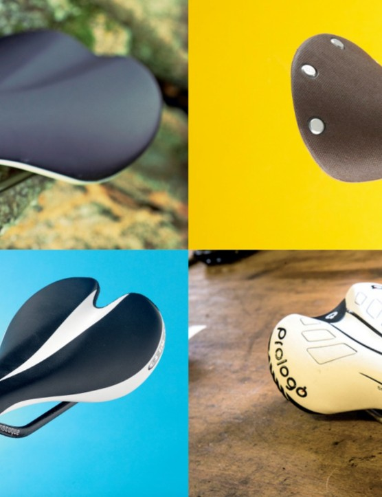Choosing the right saddle is a big part of the equation