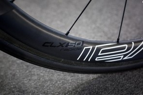 Specialized's wheel brand Roval provide the CLX 50 carbon wheels