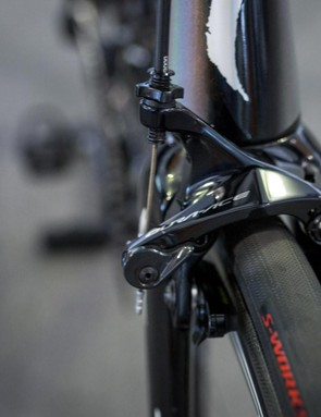 A closer look at the direct mount front brake