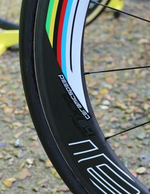 Roval CLX60 wheels for aero benefit in the fast opening hours