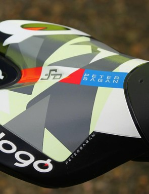 Sagan logo on Prologo