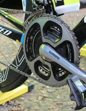 Sagan had an SRM power meter for each bike