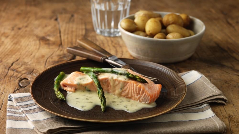Salmon is a good source of omega-3 fatty acids