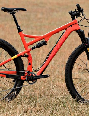 Salsa's Deadwood has 100mm of front travel and 91mm in the rear