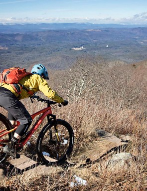 They may not be as tall as the Rockies (anymore), but there is plenty of steep and technical terrain in Virginia