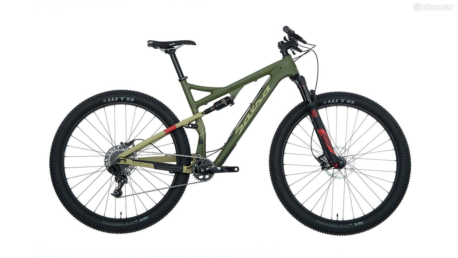 The entry-level build uses SRAM GX1