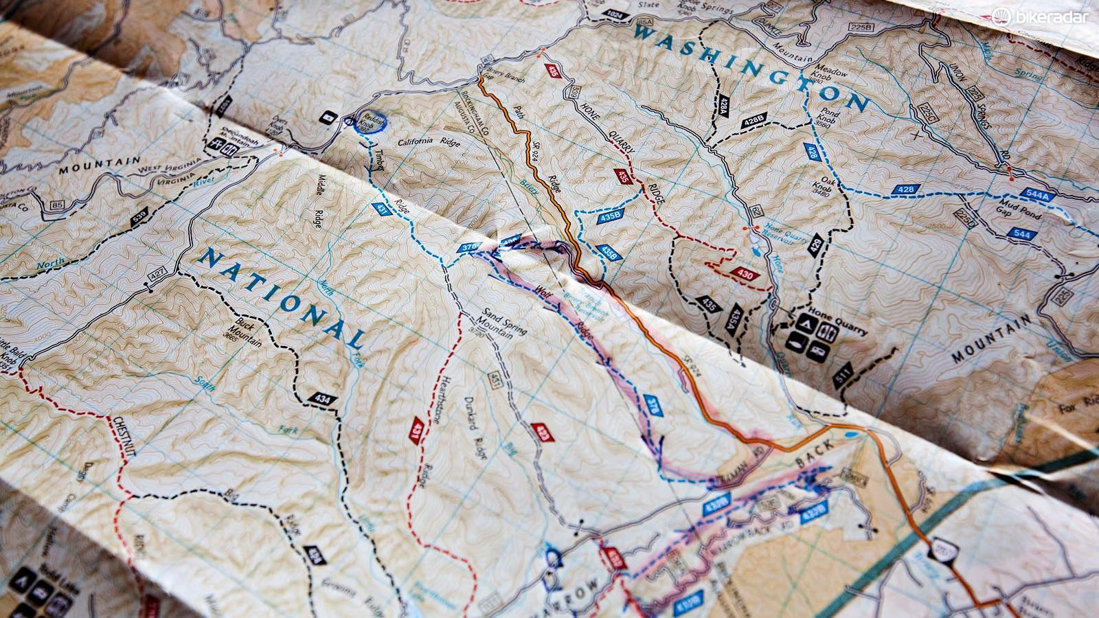 The trails in George Washington National Forest were the perfect proving grounds for the Deadwood