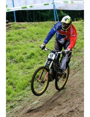 Sam Dale riding