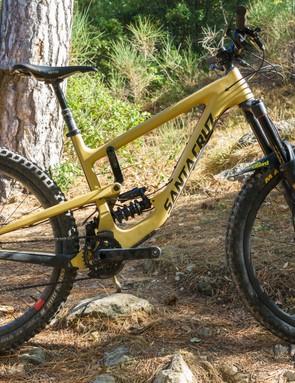 The Santa Cruz Nomad CC XX1 Reserve