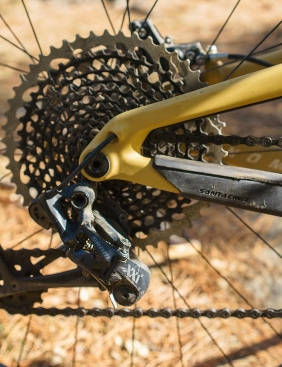 XX1 Eagle distributed the 12-speed gear range