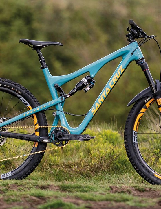 The Santa Cruz Bronson CC XX1 Eagle ENVE