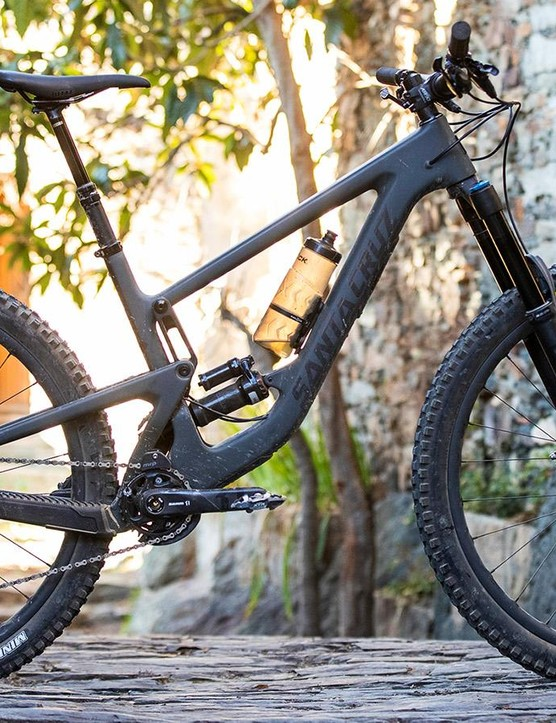 The big wheeled Megatower looks more than a little bit like its 650b brother, the Nomad
