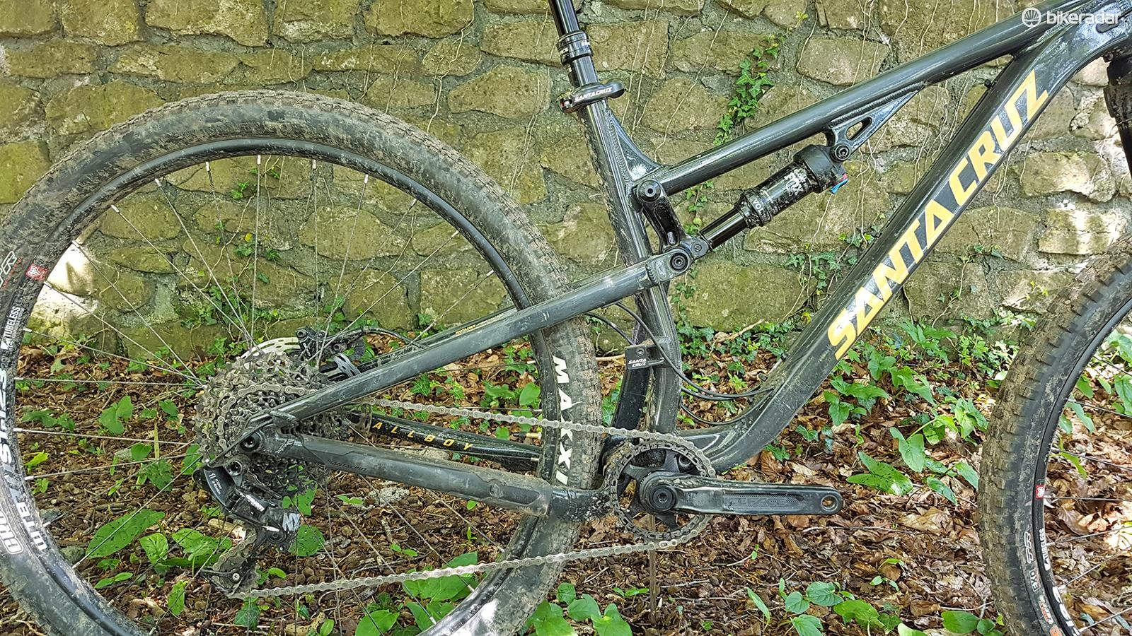 The VPP suspension linkage has been seen on Santa Cruz bikes for a long time now and offers a great ride