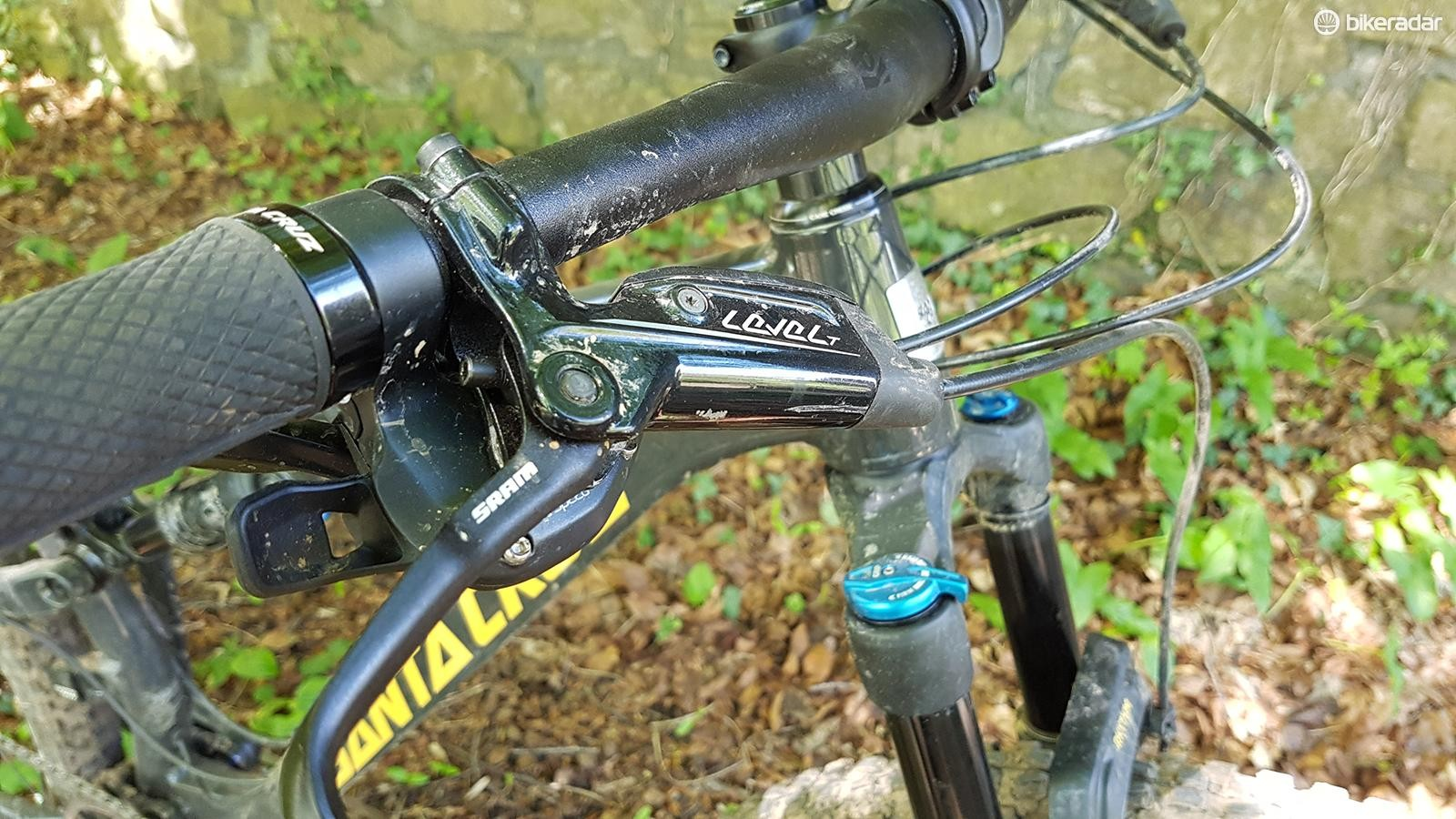SRAM Level T brakes aren't the most powerful
