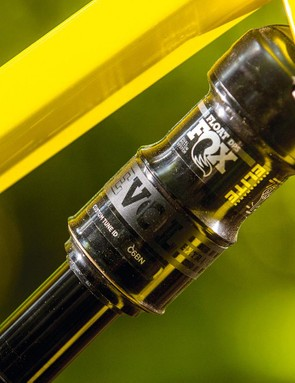 The Performance EVOL shock has a firm feel