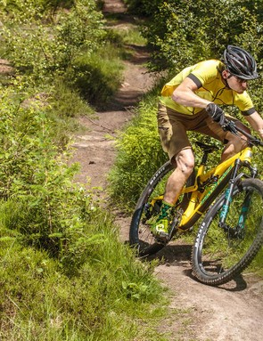 Some may argue that you pay handsomely for the name badge, but the TB3 is real a trail killer