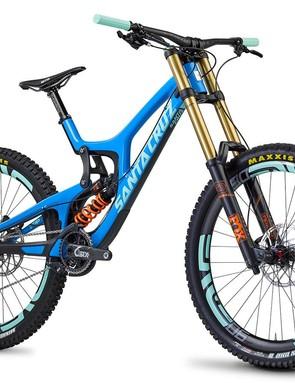 This year's most wanted downhill bike: the Santa Cruz V10